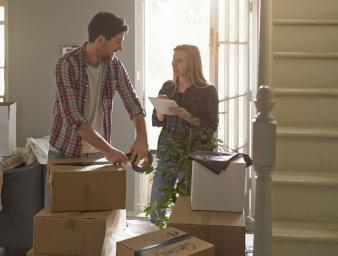 Which items often get broken during a move?